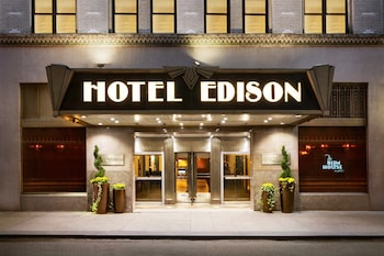 Book The Edison Hotel in New York.