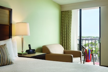 Guestroom at Surfside Beach Oceanfront Hotel in Surfside Beach