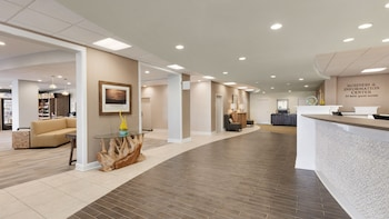 Reception at Surfside Beach Oceanfront Hotel in Surfside Beach