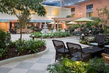 Lobby at Holiday Inn Club Vacations at Orange Lake Resort in Kissimmee