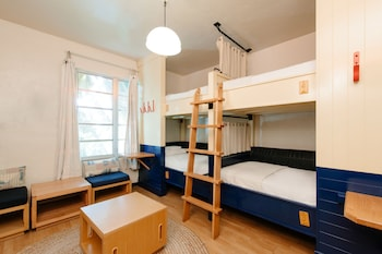 Shared Dormitory, 1 Single Bed (Co-Ed Dorm with 4 Beds)