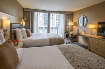 Executive Room, 2 Queen Beds, Balcony, City View