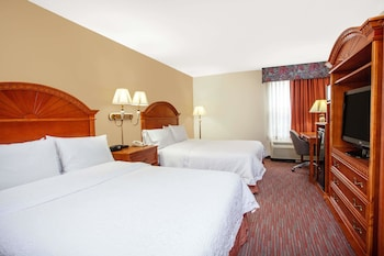 Guestroom at Ramada by Wyndham Orlando Florida Mall in Orlando