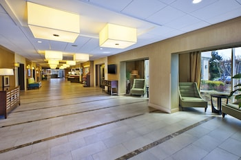 Lobby at Holiday Inn Gaithersburg in Gaithersburg