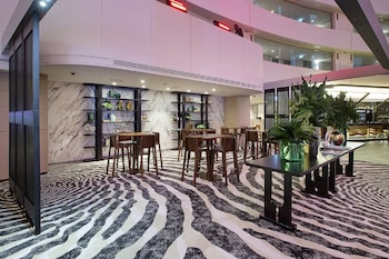 Lobby Sitting Area at The Star Grand at The Star Gold Coast in Broadbeach