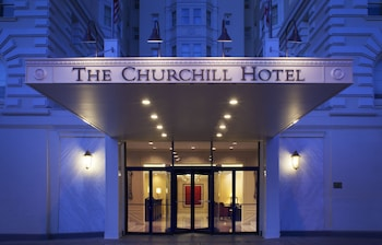 Book Churchill Embassy Row Hotel in Washington.