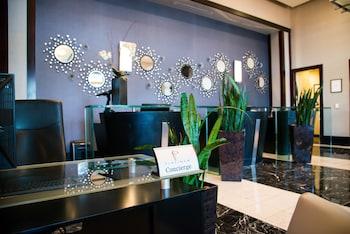 Concierge Desk at Platinum Hotel in Las Vegas