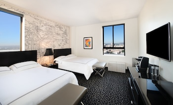 Superior Room, 2 Double Beds, City View