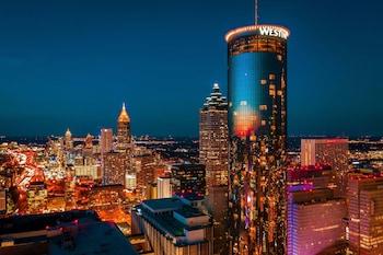 威斯汀亞特蘭大桃樹廣場飯店 The Westin Peachtree Plaza, Atlanta