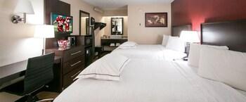 Premium Room, 2 Double Beds (Upgraded Bedding & Snack, Smoke Free)