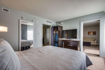 Suite, 1 Queen Bed, Accessible (Mobility & Hearing, Roll-in Shower)