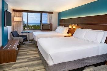 Room, 2 Queen Beds, Non Smoking, Ocean View