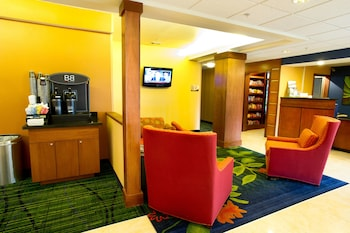 Lobby at Fairfield Inn & Suites Dallas DFW Airport North/Irving in Irving