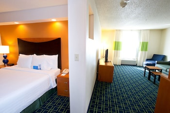 Guestroom at Fairfield Inn & Suites Dallas DFW Airport North/Irving in Irving