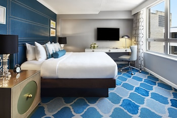 Guestroom at The Embassy Row Hotel in Washington