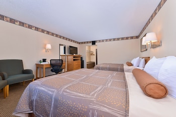 Standard Room, 1 King Bed, Non Smoking, Refrigerator & Microwave (Movie View from the Bed)