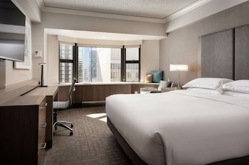 Executive Room, 1 King Bed, Business Lounge Access, City View