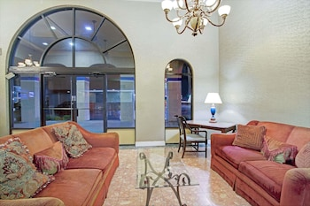Lobby at Travelodge Suites by Wyndham Kissimmee Orange in Kissimmee