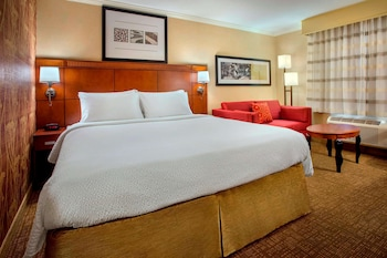 Room, 1 King Bed with Sofa bed, Accessible (Mobility & Hearing, Roll-In Shower)