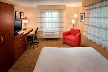 Suite, 1 King Bed with Sofa bed, Accessible (Mobility Tub One Bedroom)