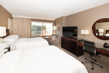 Club Room, 2 Double Beds, Business Lounge Access