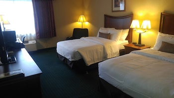 Standard Room, 2 Double Beds, Accessible, Refrigerator & Microwave