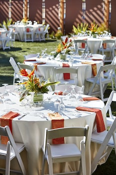 Outdoor Banquet Area at San Diego Marriott Mission Valley in San Diego