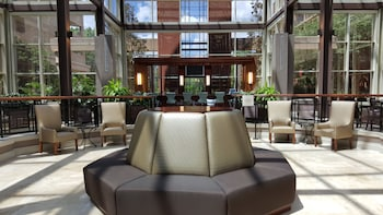 Lobby at Sheraton Orlando North Hotel in Maitland