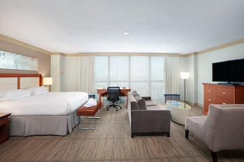 Executive Suite, 1 King Bed, Executive Level