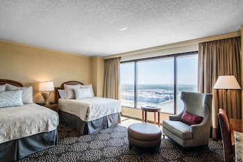 Premier Double Room, 2 Double Beds, Accessible