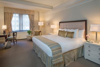 Guestroom at Warwick New York in New York