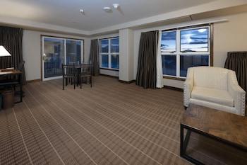 Deluxe Oda, 1 En Büyük (king) Boy Yatak (grande Alpine Vista One Bedroom Suite)