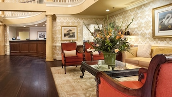 Lobby Sitting Area at DoubleTree by Hilton Hotel & Suites Charleston in Charleston