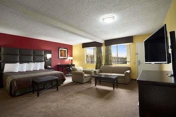 Guestroom at Days Inn by Wyndham Dallas Irving in Irving