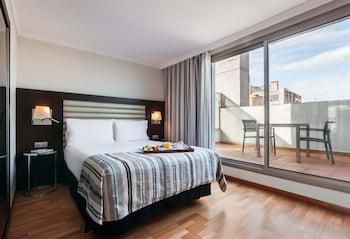 Tek Büyük Veya İki Ayrı Yataklı Oda, Teras