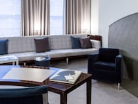 Alcove Suite at Royalton Hotel in New York