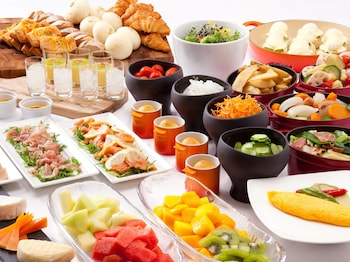 GRAND PRINCE HOTEL KYOTO Breakfast buffet