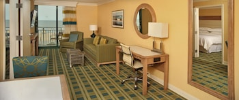 Guestroom at Sheraton Virginia Beach Oceanfront Hotel in Virginia Beach