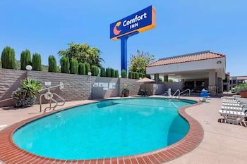 鷹石市帕薩迪納老城附近凱富飯店 Comfort Inn Near Old Town Pasadena in Eagle Rock