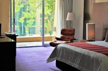 Deluxe Room, 2 Double Beds, Non Smoking, Garden View
