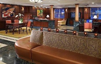 Lobby at Skyline Hotel in New York