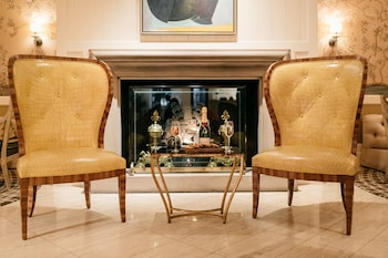 Lobby Lounge at Rosewood Mansion on Turtle Creek in Dallas
