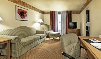 Suite with 1 King size bed and a sofa bed