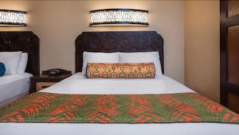 Guestroom at Disney's Caribbean Beach Resort in Lake Buena Vista