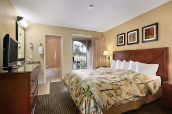 Guestroom at Days Inn & Suites by Wyndham San Diego Near Sea World in San Diego