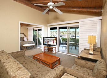 Suite, 1 King Bed, Patio, Marina View (Living Room;with Sofabed)