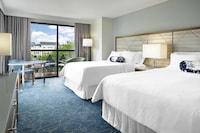 Room, 2 Queen Beds, Balcony, Resort View