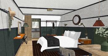 Courtyard 1 King Bed Junior Suite