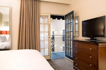 Two Room Suite, 1 King Bed with Sofa Bed, Balcony Interior View