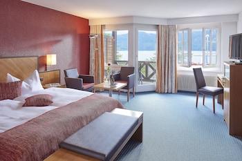 Superior Tek Büyük Yataklı Oda, Balkon, Göl Manzaralı